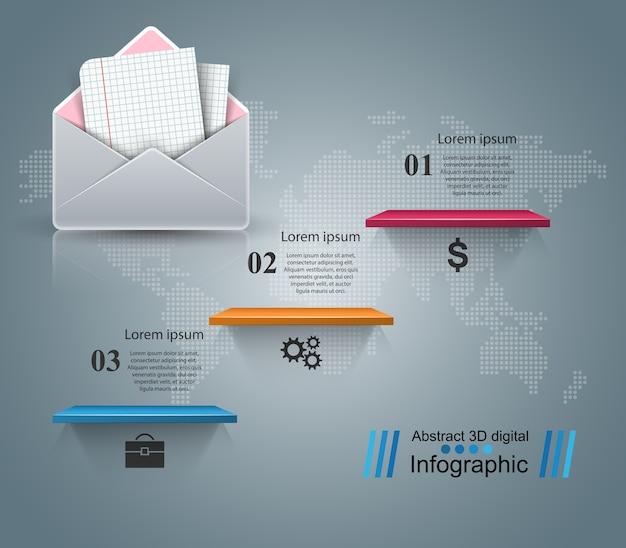 Конверт, почта, электронная почта
