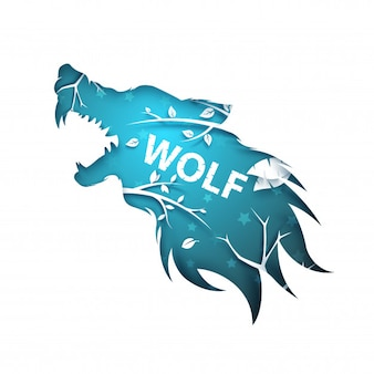Оборотень, волк, собака, воронья ворона