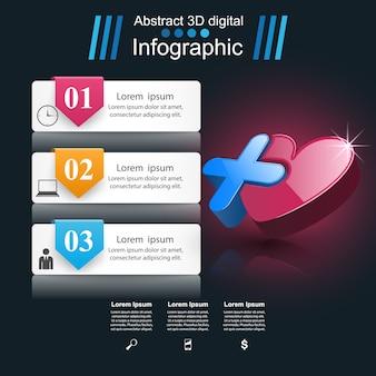 Бизнес инфографика оригами стиль векторные иллюстрации.