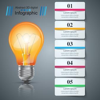 紙ビジネスインフォグラフィック