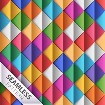折り紙のシームレスパターン