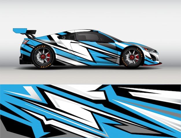 Гоночный автомобиль дизайн вектор