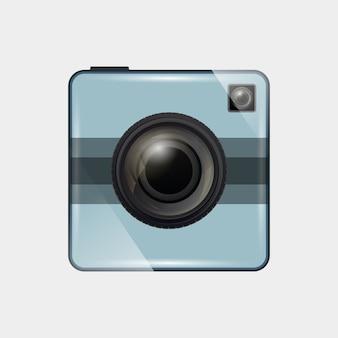 フォトカメラのアイコン