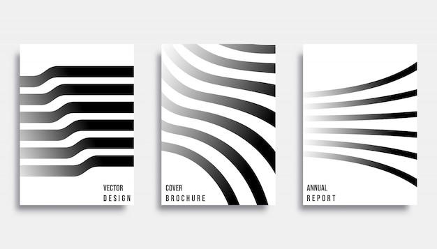 抽象的なカバーデザイン