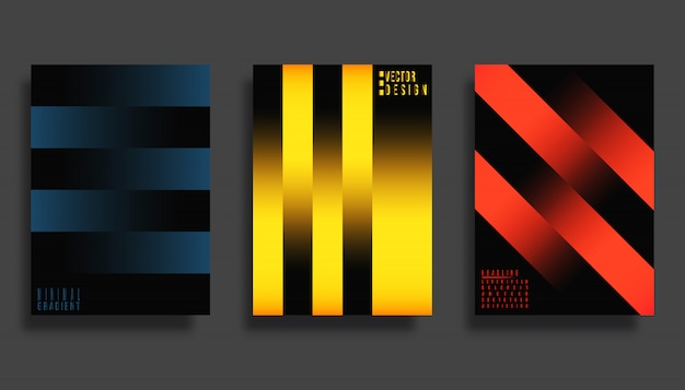 Абстрактный дизайн обложки.