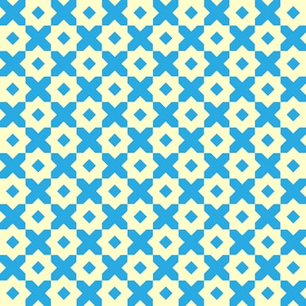 ビンテージの幾何学的なシームレスパターン。