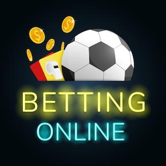 サッカー賭博オンライン