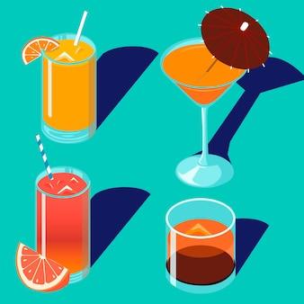飲み物とカクテル