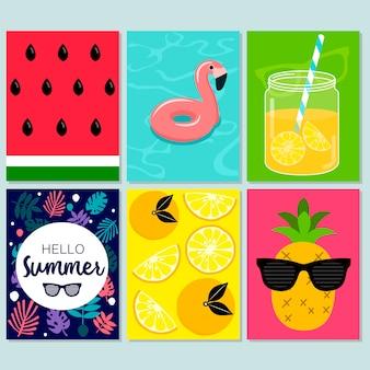 夏のカード
