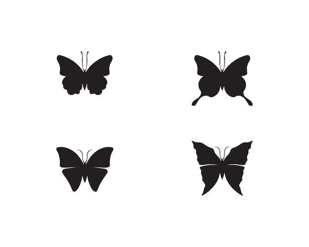 蝶の概念的なシンプルでカラフルなアイコン。ロゴ。