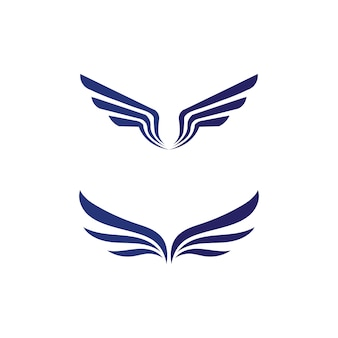 ファルコンウィングロゴテンプレートアイコンロゴデザインアプリ