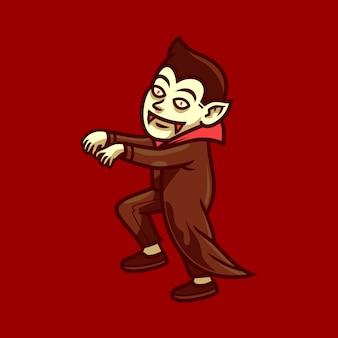 Дракула хэллоуин персонаж