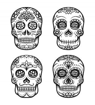 死者の頭蓋骨日