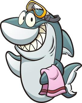 サメとゴーグル