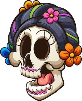 カトリーナの頭蓋骨