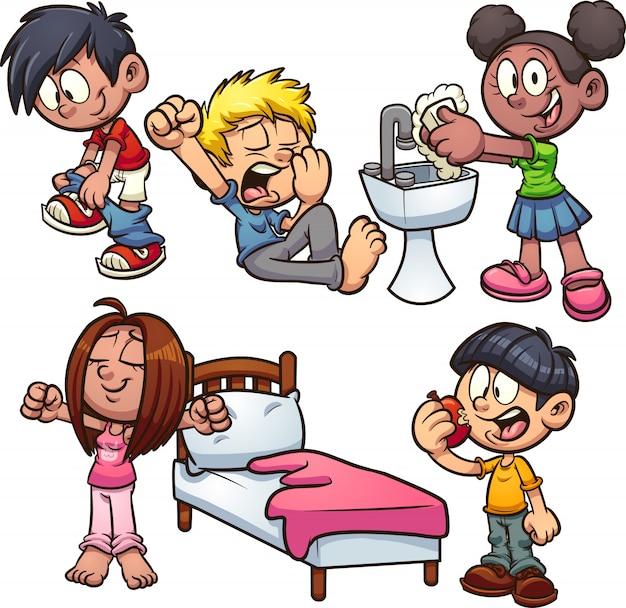 漫画の子供たち