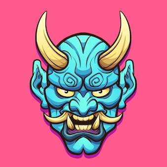 Японская маска демона
