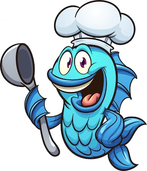 Шеф-повар рыба