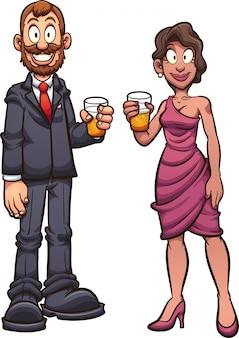 派手なカップル