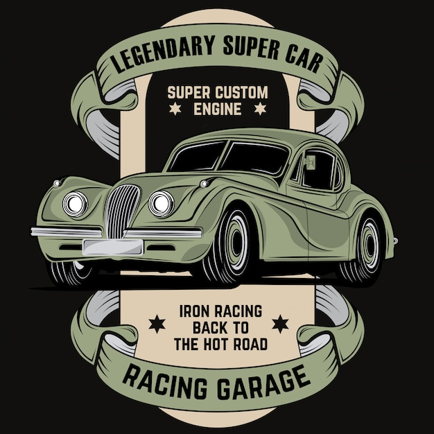 Легендарный суперкар