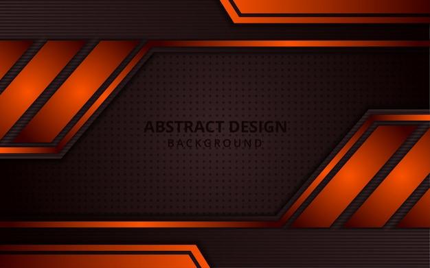 抽象的なグラデーションの茶色とオレンジ色の背景