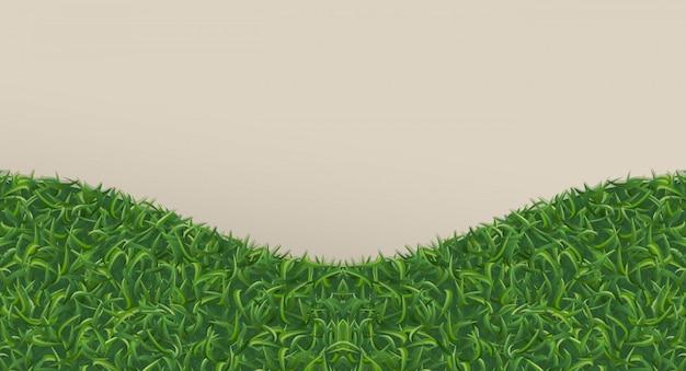 背景のための抽象的な緑の草。