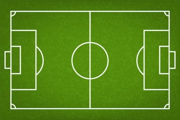 Футбольное поле или футбольное поле.