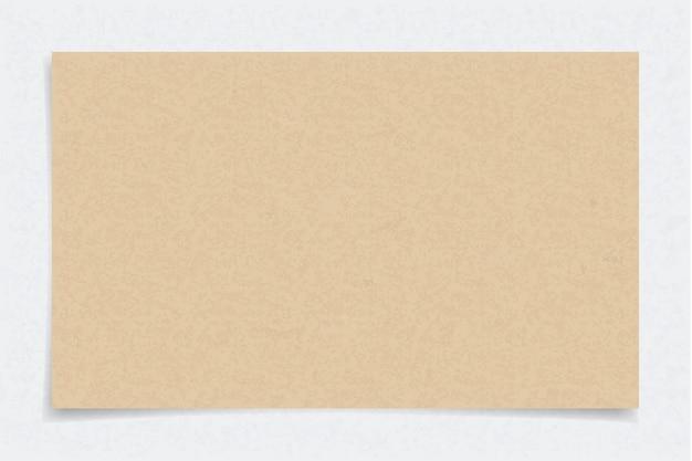茶色の紙の質感。
