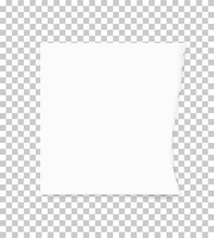 背景のために紙の端を引き裂いた。