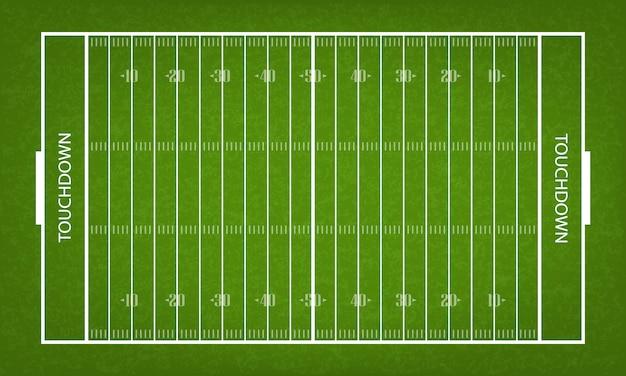 アメリカンフットボールフィールド