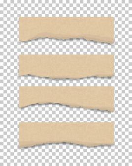 Разорванная текстура бумаги