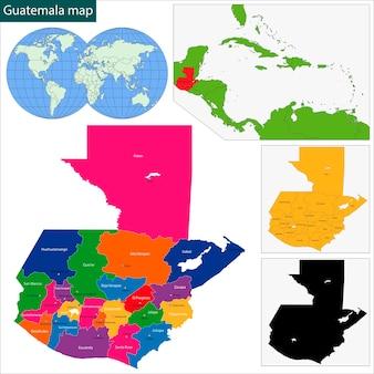 グアテマラマップ