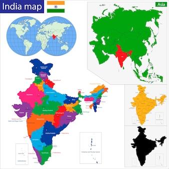 西アジア地図