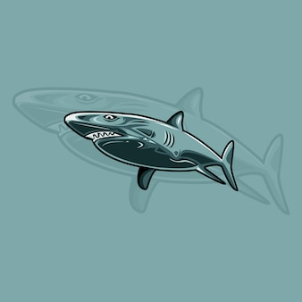 Акула логотип