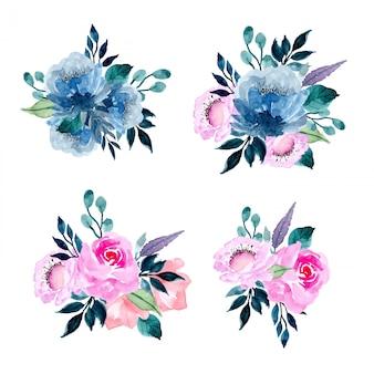 水彩生け花コレクション