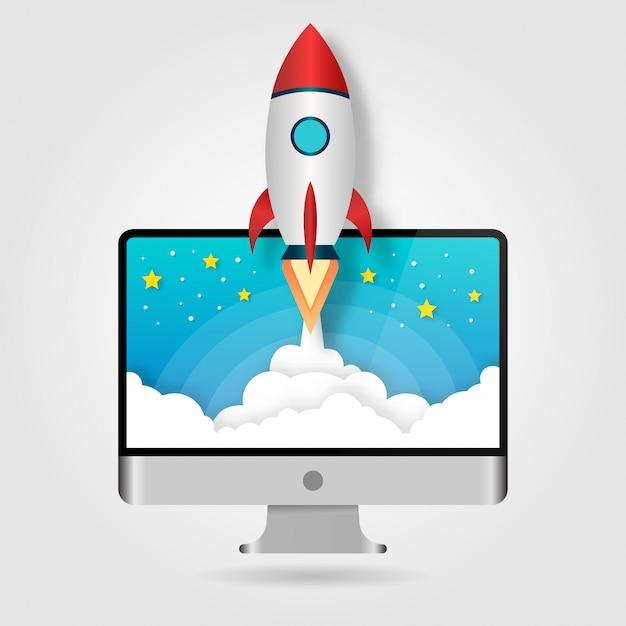 Запуск концепции ракеты