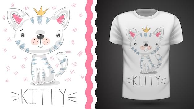 Довольно милая идея для футболки с принтом