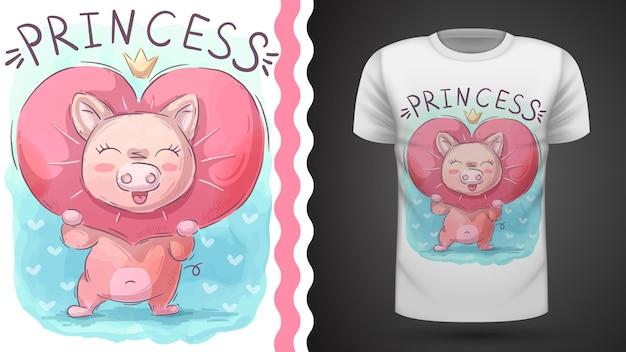 Любовь свинья