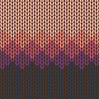 プルオーバー、セーター、ジャージー - シームレス編みパターン