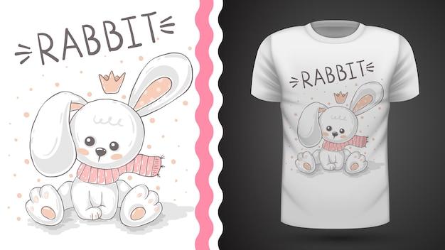 Кролик тедди - футболка