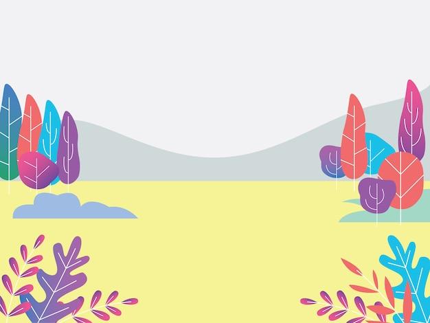 背景の山の壁紙風景