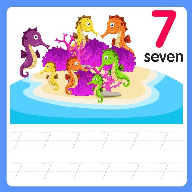 Написание практики номер семь на море