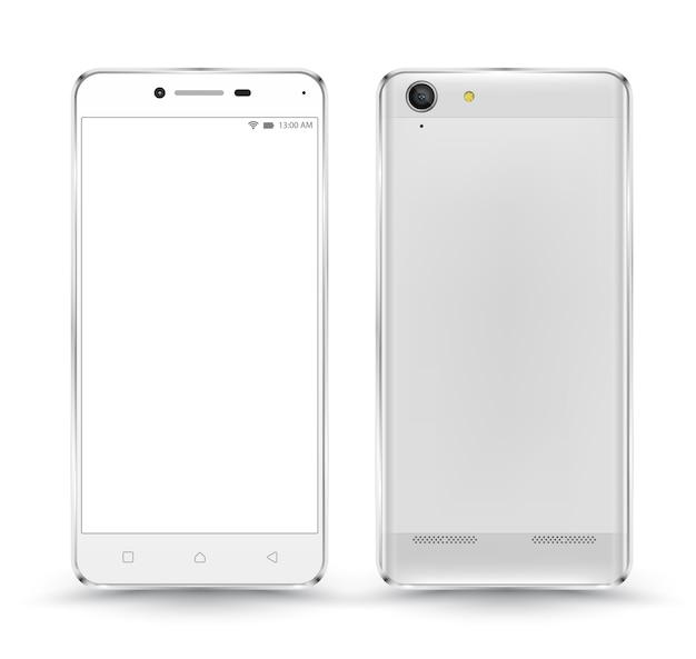新しいリアルな携帯電話のスマートフォン
