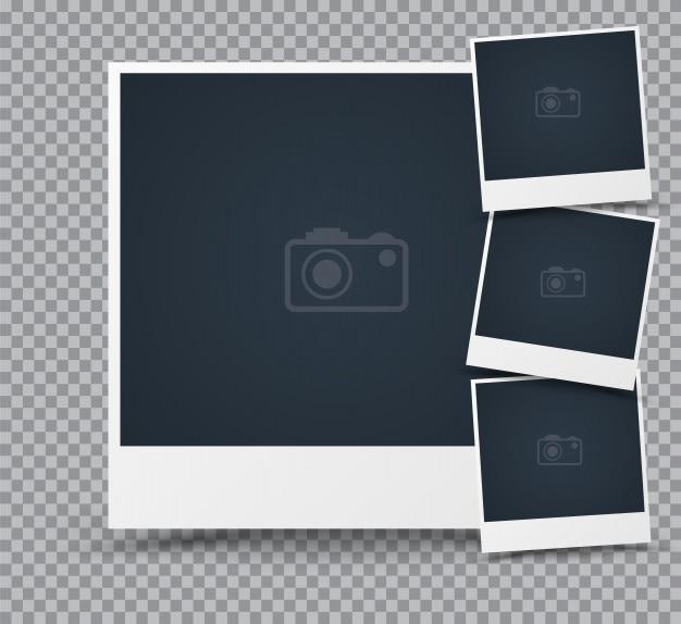 あなたの流行の写真や画像のためのフォトフレームのセット