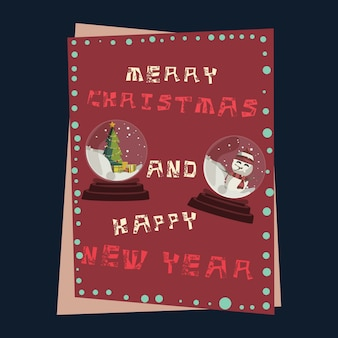 Рождественские фоны векторной иллюстрации
