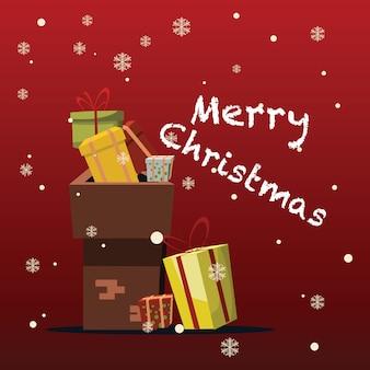 Рождество и новый год фон векторные иллюстрации