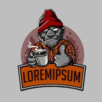 コーヒーコングのロゴ