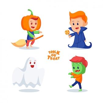 Хэллоуин персонажи