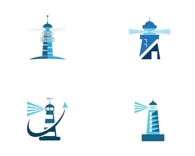 灯台のロゴテンプレート
