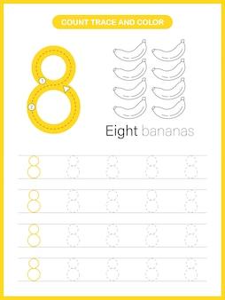 Таблица «трассировка чисел и цвет»